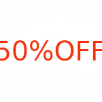 50 Percent Off Coupon